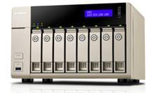 QNAP TVS-863-4G 8-Bay Diskless NAS